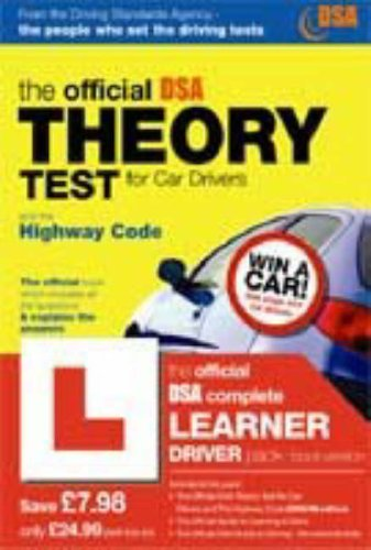 9780115527548: The Official DSA Complete Learner Driver Pack: Valid for Tests Taken from 4th September 2006 (Dsa)