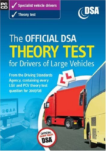 9780115527937: The Official DSA Theory Test for Drivers of Large Vehicles (2008) (PC CD)