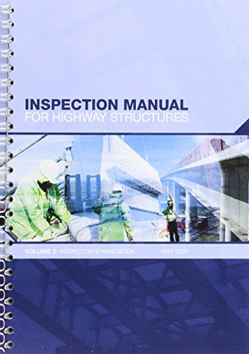 9780115527982: Inspection manual for highway structures: Vol. 2: Inspector's handbook