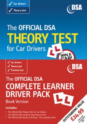 9780115528453: The Official DSA Complete Learner Driver Pack 2007 (Driving Skills)