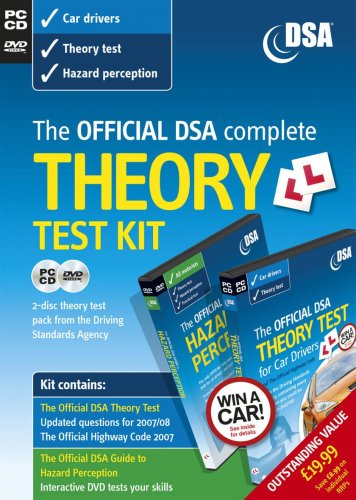 9780115528873: The Official DSA Complete Theory Test Kit for Car Drivers (PC DVD)