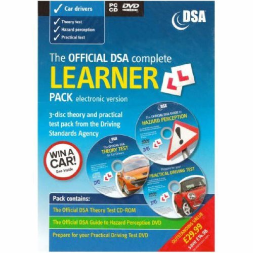 9780115528880: The Official DSA Complete Learner Driver Pack (PC DVD)
