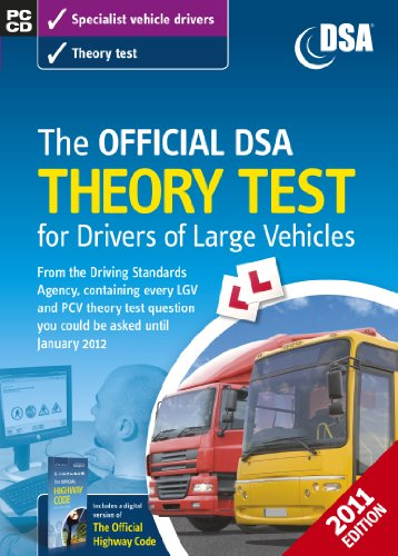 9780115529047: The Official DSA Theory Test for Drivers of Large Vehicles CD-ROM (2011 edition)
