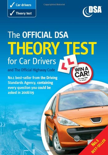 9780115529276: The Official DSA Theory Test for Car Drivers and The Official Highway Code 2008/09 Edition: Valid for Theory Tests Taken from 1 September 2008