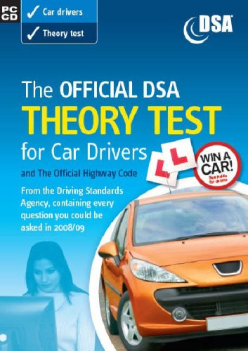 9780115529283: The Official DSA Theory Test for Car Drivers 2008/09: Valid for Tests Taken from 1 September 2008: and the Official Highway Code (Driving Skills)