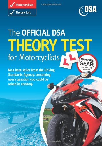 9780115529290: The The Official DSA Theory Test for Motorcyclists 2008/09: The official DSA theory test for motorcyclists [CD-ROM] Valid for Tests Taken from 1 September 2008