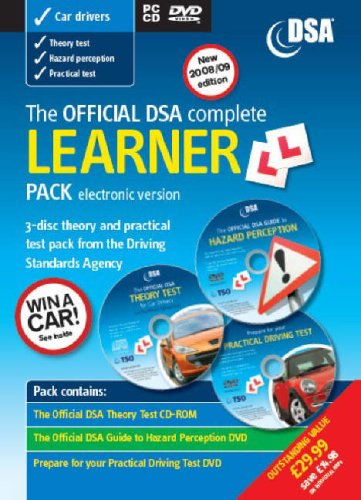9780115529320: Official DSA Complete Learner Driver Pack: Valid for Tests Taken from 1 September 2008