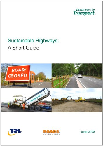 9780115529825: Sustainable highways: a short guide