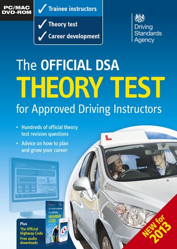 9780115530432: The official DVSA theory test for approved driving instructors [DVD-ROM]