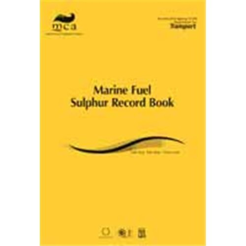 9780115530449: Marine fuel sulphur record book