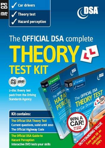 9780115530715: The Official Dsa Complete Theory Test Kit for Car Drivers: Includes Information About Case Studies Which Will Be Introduced into the Theory Test on 28 September 2009