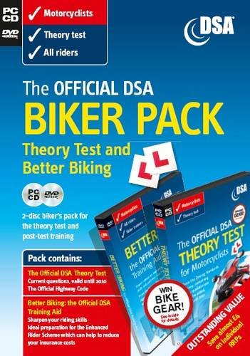 9780115530746: The Official DSA Biker Pack - Theory Test CD-ROM and Better Biking DVD (Valid until 2011)
