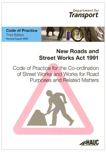 9780115530944: Code of practice for the co-ordination of street works and works for road purposes and related matters