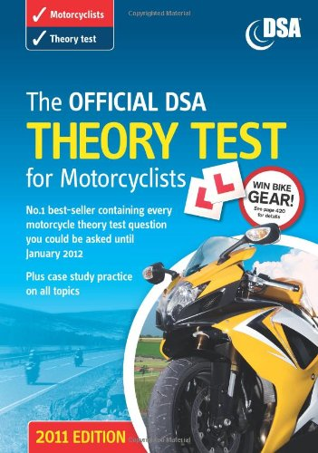 9780115531279: The Official DSA Theory Test for Motorcyclists Book 2011