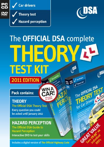 9780115531309: The Official DSA Complete Theory Test Kit for Car Drivers