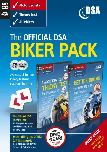 9780115531316: The Official DSA Biker Pack - Theory Test CD-ROM and Better Biking DVD (2011 edition)