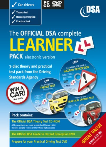 9780115531323: The Official DSA Complete Learner Driver Pack
