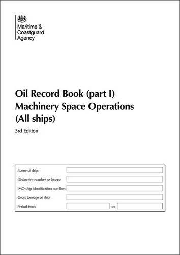 9780115531569: Oil Record Book - Machinery Space Operations - All Ships: (Part I) 2010