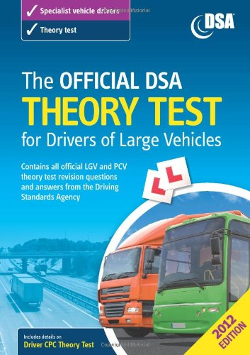 9780115531897: The Official DSA Theory Test for Drivers of Large Vehicles 2012