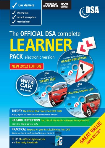 9780115531965: Official Dsa Complete Learner Driver Pack-CD-ROM + 2 DVD's