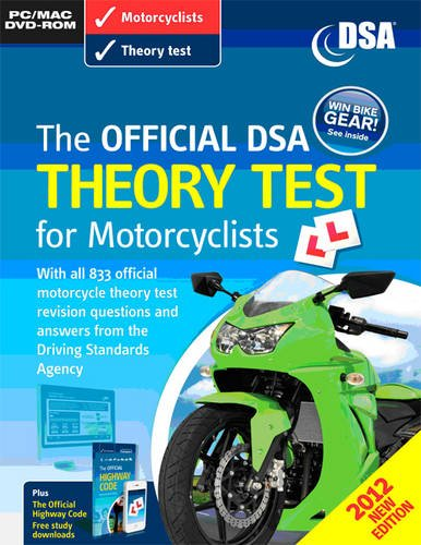9780115531972: Official Dsa Theory Test for Motorcyclist [import anglais]