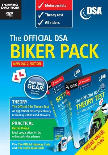 9780115531996: Official DSA Biker Pack by Driving Standards Agency (Great Britain) ( Author ) ON May-09-2012, Paperback