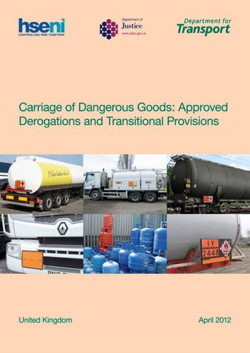 9780115532139: Carriage of Dangerous Goods: Approved Derogations and Transitional Provisions