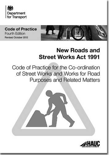 9780115532511: Code of practice for the co-ordination of street works and works for road purposes and related matters