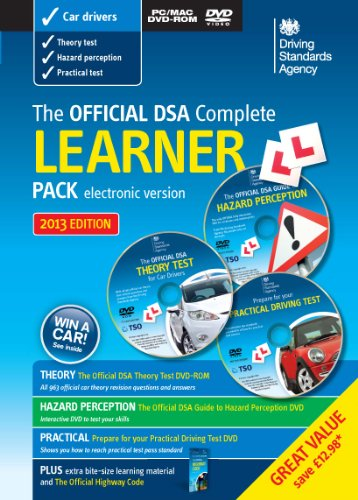 9780115532627: The Official DSA Complete Learner Driver Pack 2013