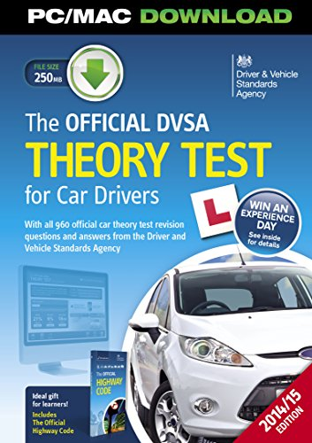 9780115532856: The official DVSA theory test for car drivers interactive download (box version)
