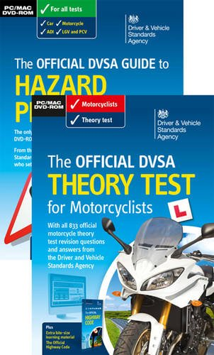 9780115533198: The official DVSA theory test for motorcyclists pack