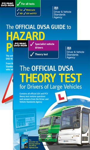 9780115533204: The Official DVSA Theory Test for Drivers of Large Vehicles Pack 2014
