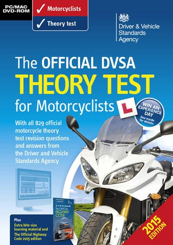 9780115533501: The Official DVSA Theory Test for Motorcyclists 2015