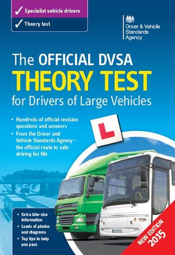 9780115533693: The official DSA theory test for drivers of large vehicles
