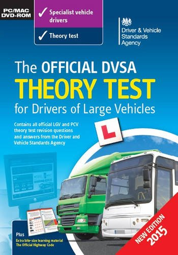 9780115533709: The Official DVSA Theory Test for Drivers of Large Vehicles DVD-ROM 2015