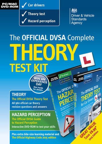 9780115533853: DVSA Official Theory Test Kit 2015