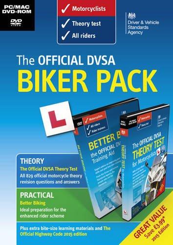 9780115533860: The official DVSA biker pack [DVD]