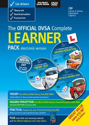 The official DVSA complete learner driver pack: Driver and Vehicle