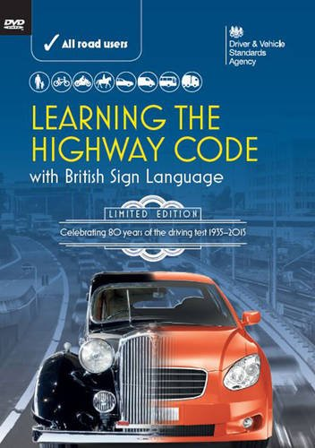 9780115534171: Learning the highway code with British sign language (the official DVSA DVD Pack)