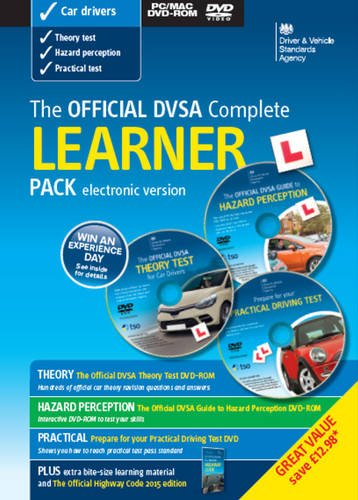 9780115534690: The Official DVSA complete learner driver pack [electronic version]