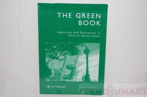 9780115601071: The Green Book: Appraisal and Evaluation in Central Government: Treasury Guidance