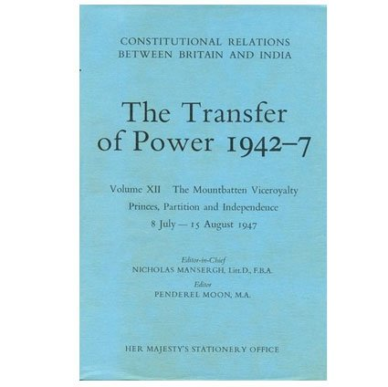 9780115800788: Transfer of Power in India, 1942-47: Reassertion of Authority, Gandhi's Fast and the Succession to the Viceroyalty, Sept.21 1942 - June 12 1943 v. 3 (Constitutional relations between Britain & India)