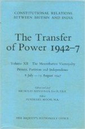 9780115800795: Transfer of Power in India, 1942-47: Bengal Famine and the New Viceroyalty, June 15 1943-Aug.31 1944 v. 4 (Constitutional relations between Britain & India)