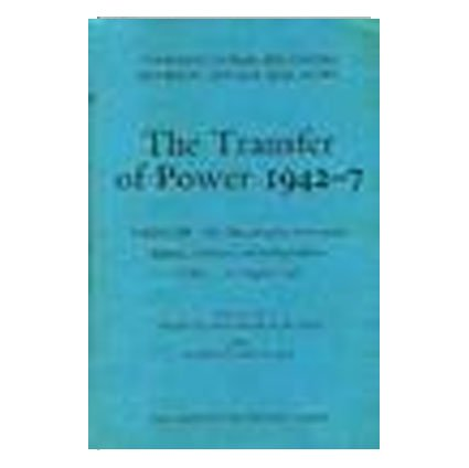 Transfer of Power in India, 1942-47: Bengal: Great Britain: Foreign