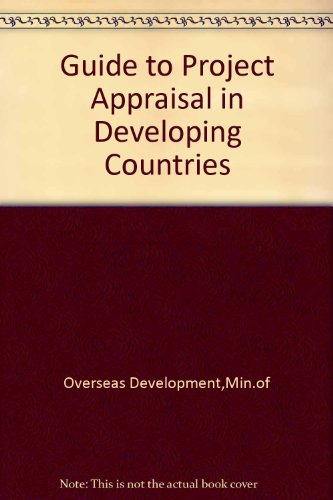 9780115801341: Guide to Project Appraisal in Developing Countries