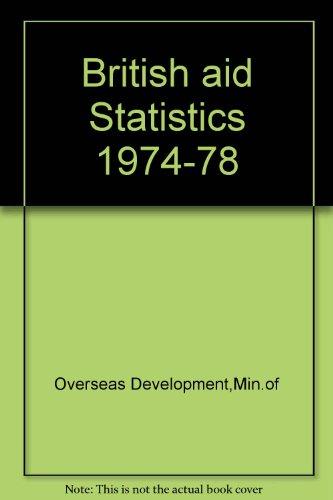 9780115802195: British Aid Statistics