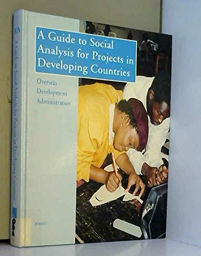 9780115802584: Guide to Social Analysis for Projects in Developing Countries