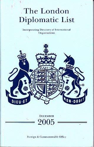 9780115917837: The London Diplomatic List