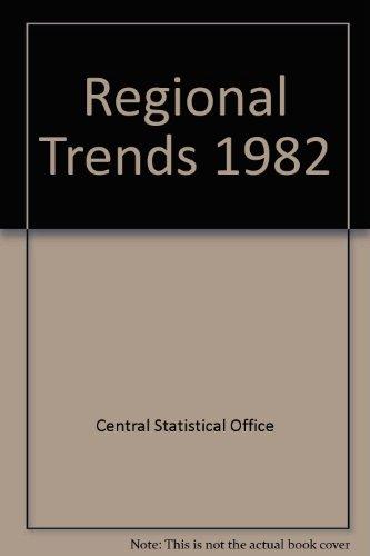 9780116200044: Regional Trends