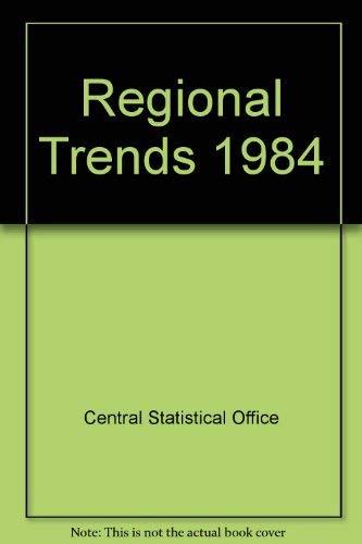 9780116200990: Regional Trends